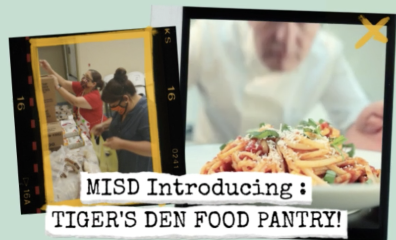 MISD Tiger's Den Food Pantry Featured Photo