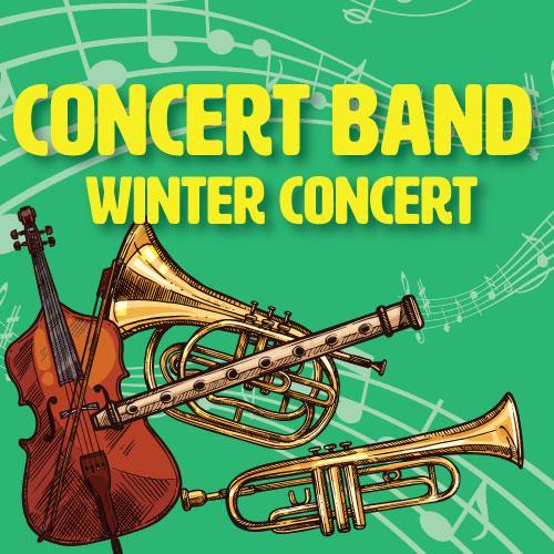 Band and Strings Ensemble Winter Chorus Concert!  Wednesday February, 2, 2019 CLICK HERE FOR FLYER Featured Photo