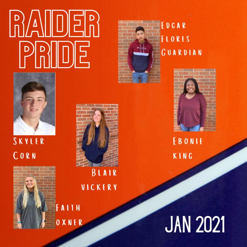 Raider Pride Jan. 2021