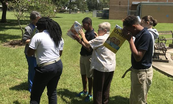Ms. Savage's class amazed with the eclipse!
