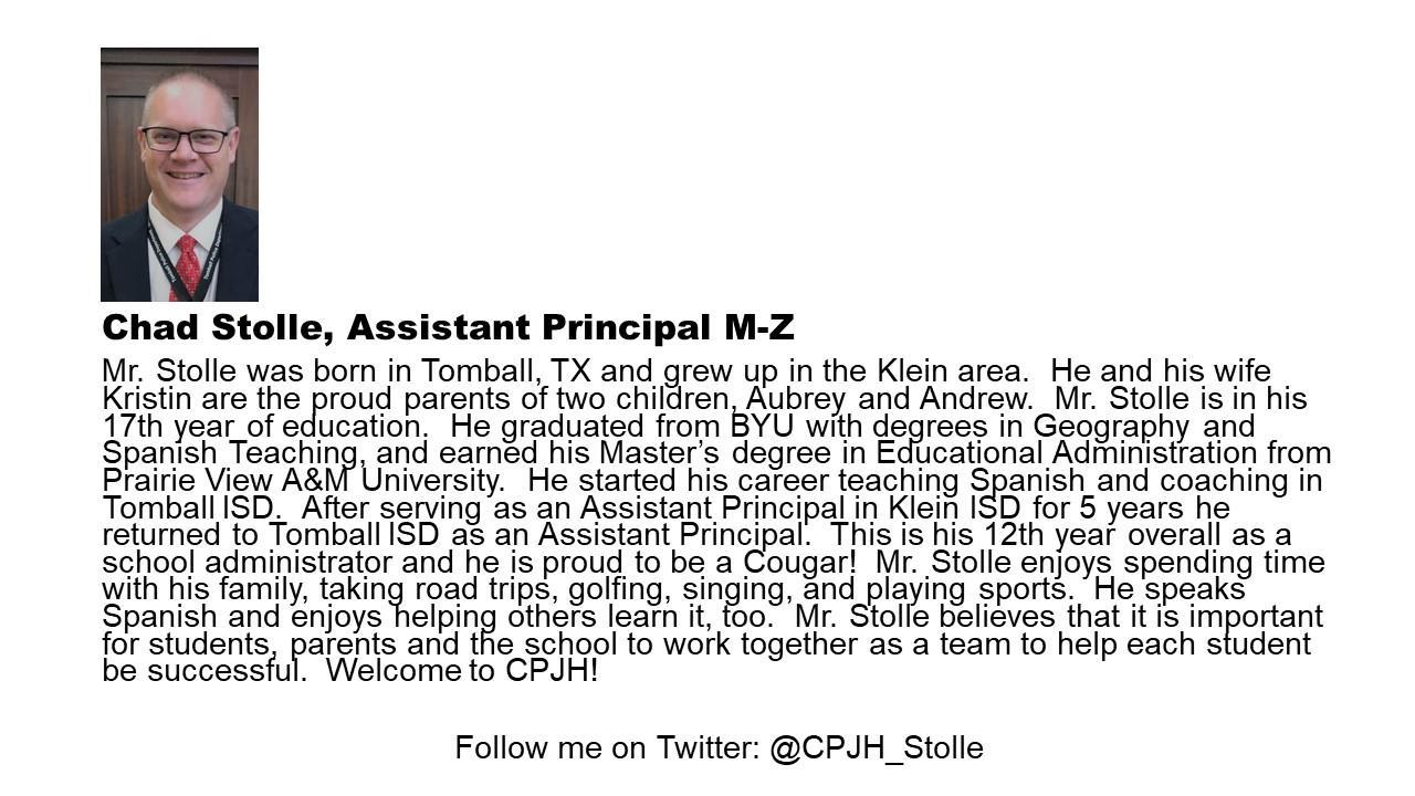 Assistant Principal Picture