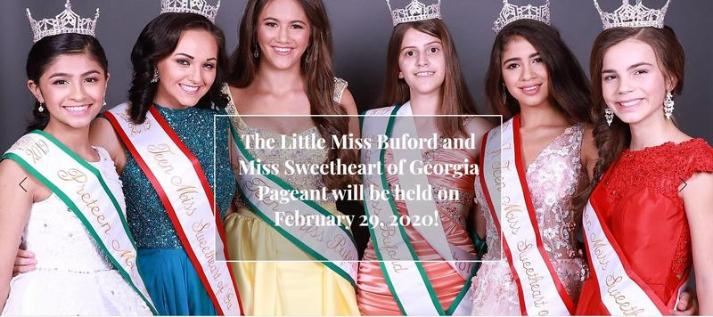 Little Miss Buford and Miss Sweetheart of Georgia Pageant 2020 Featured Photo