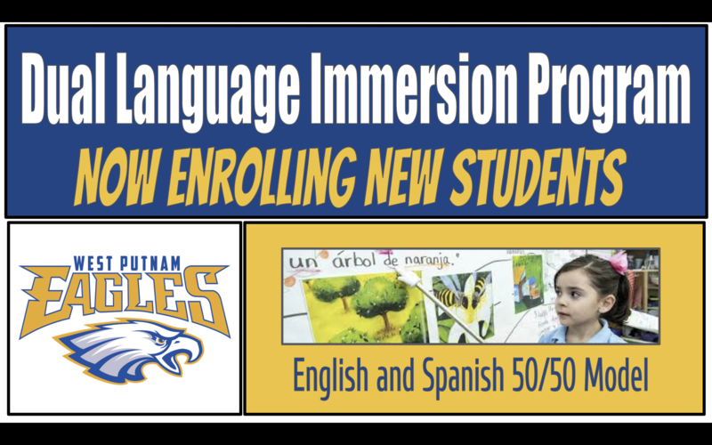 Dual language immersion program now enrolling new students