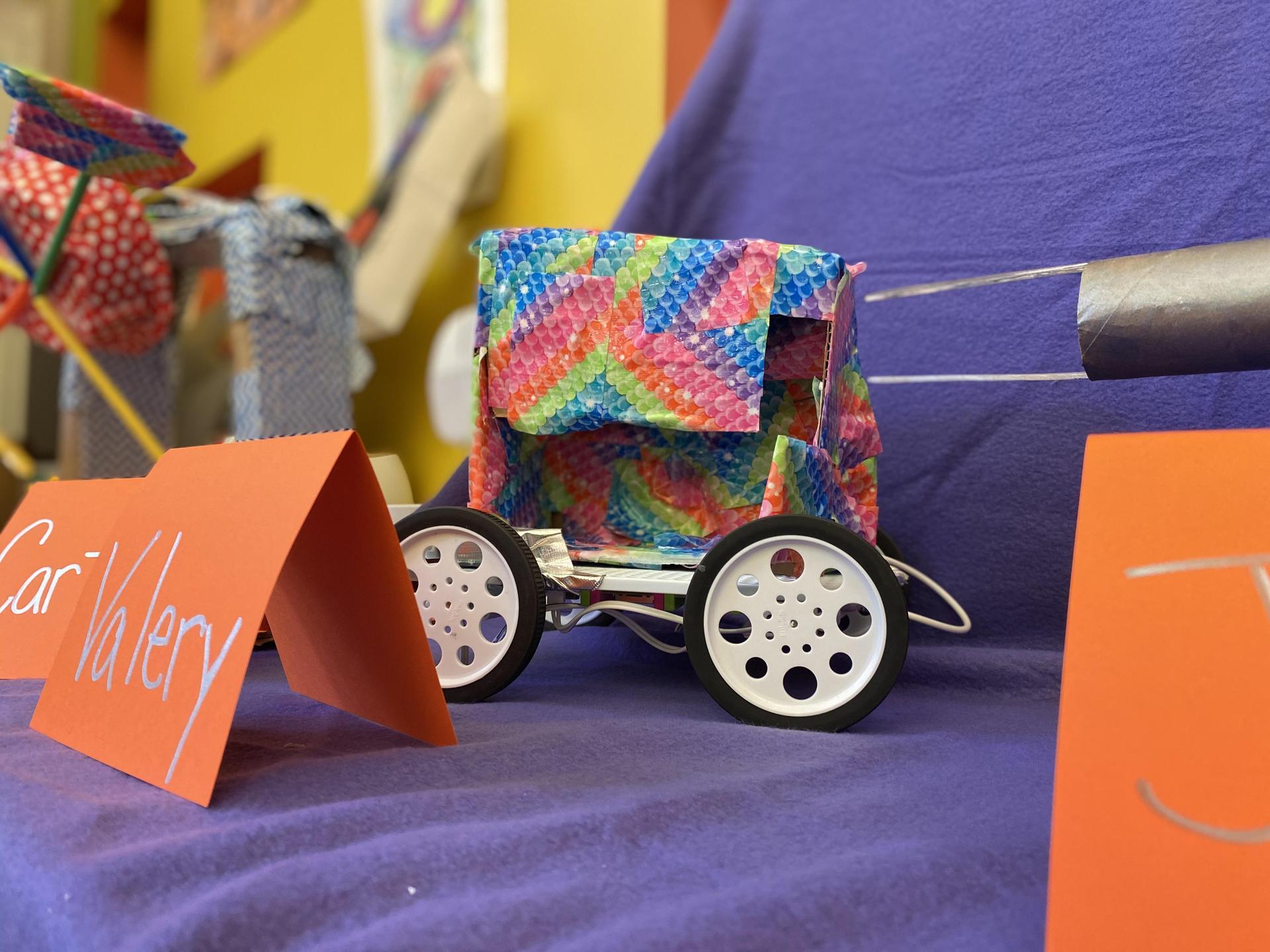 student made car