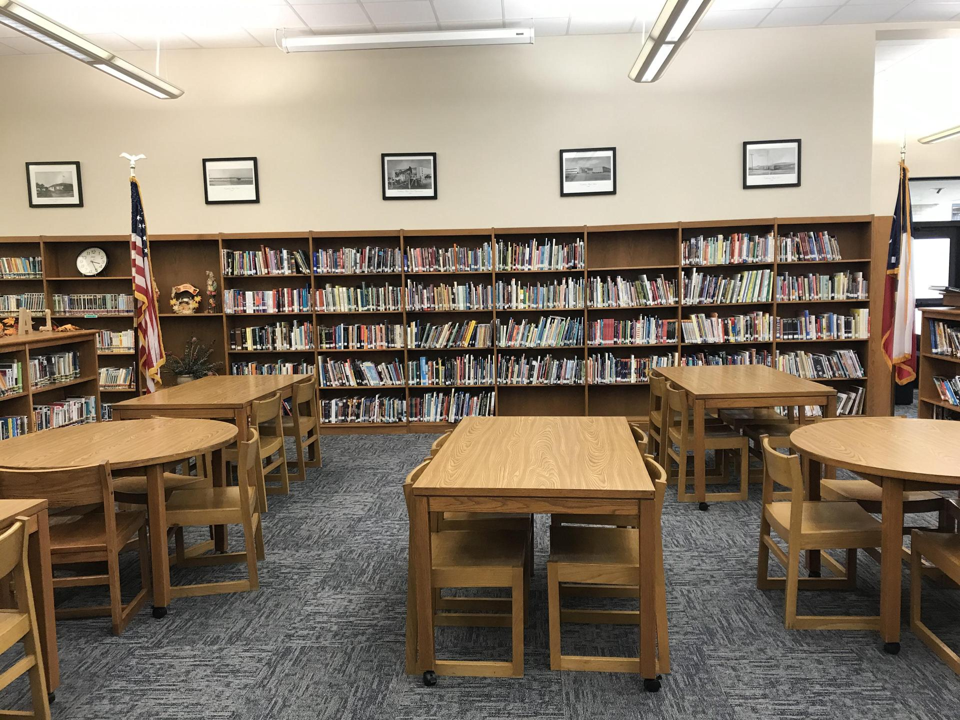 Class area of the library