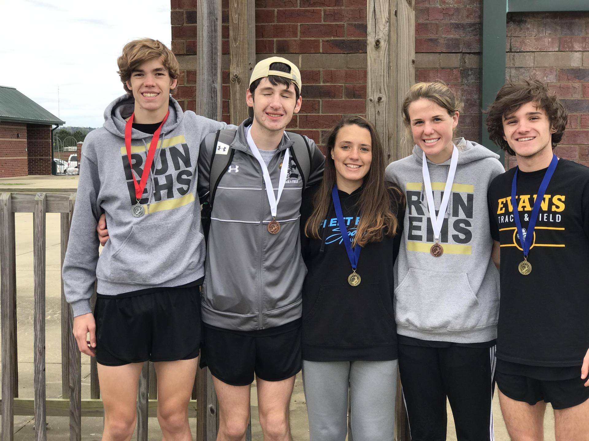 Distance Winners