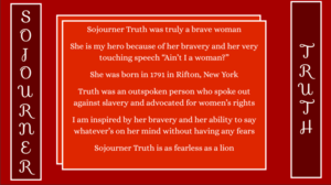 Sojourner Truth poem