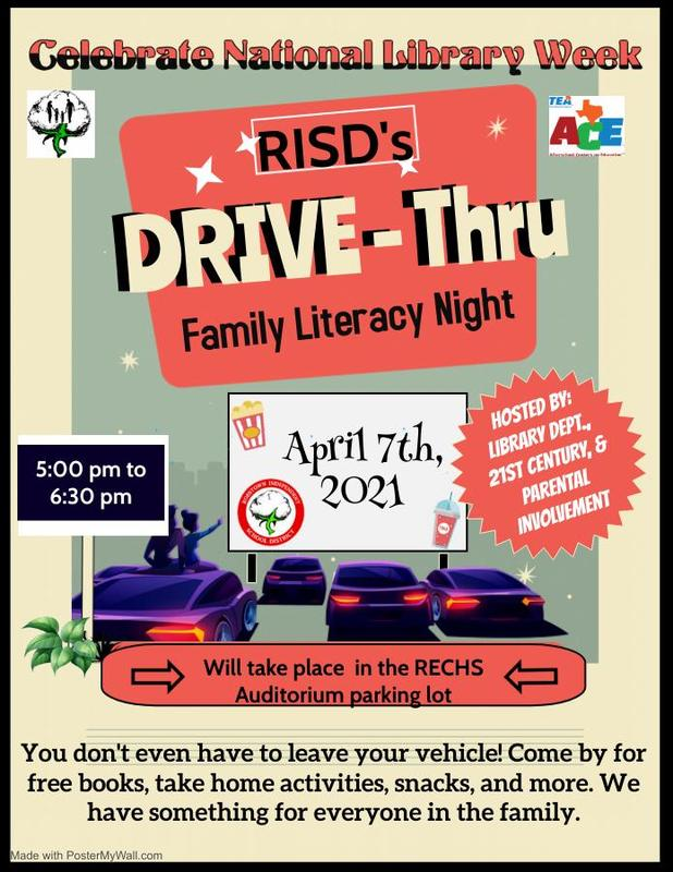 District Wide: Drive Thru Family Literacy Night Featured Photo