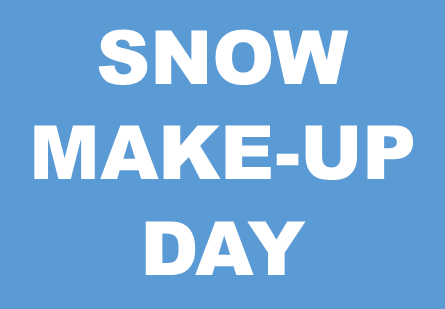 Snow Make-up Day Image