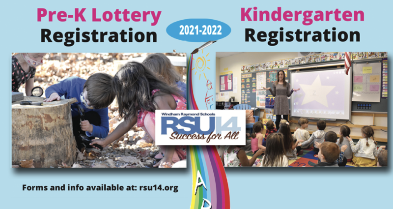 K and Pre-K Registration Banner
