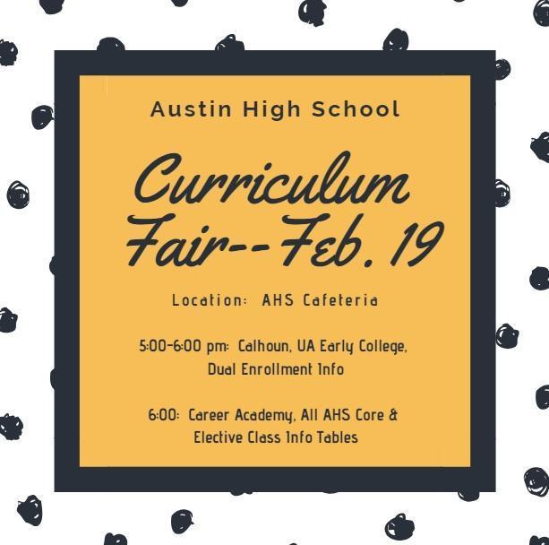 curriculum fair info