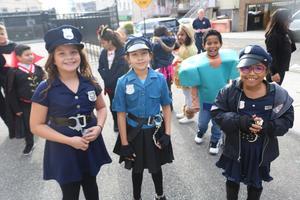 3 future female cops