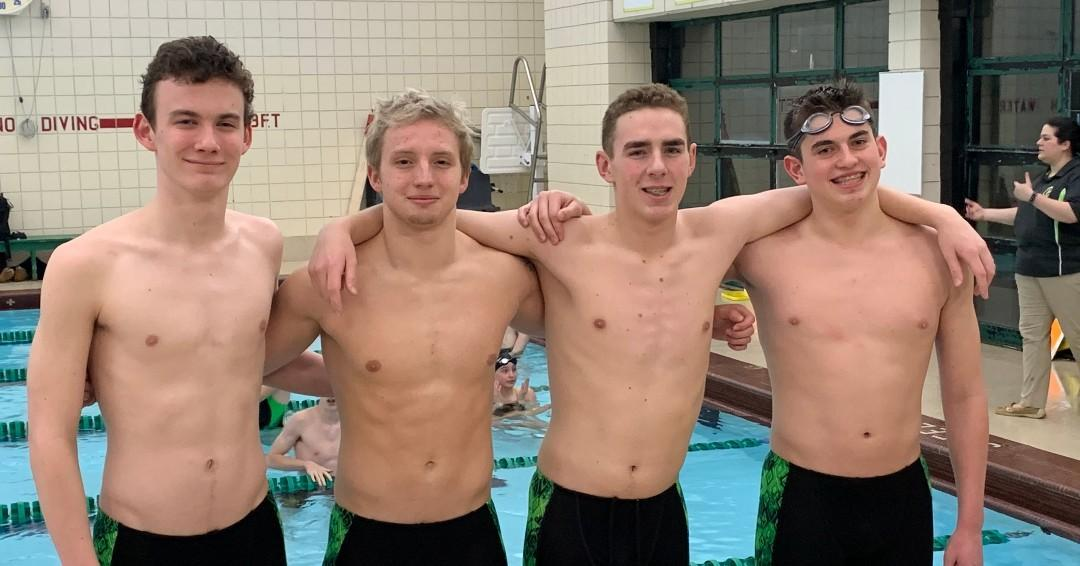swimming relay team