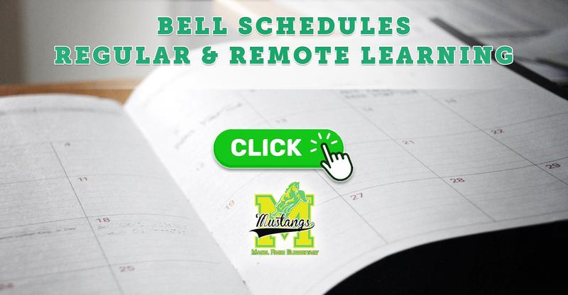Regular & Remote Learning Bell Schedules (2020-2021)