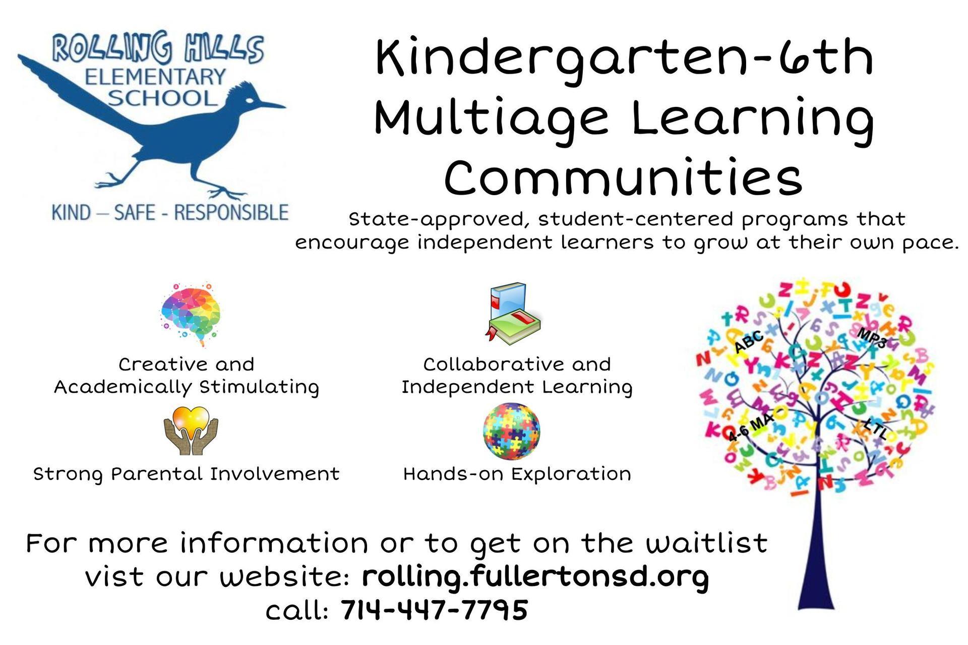 Multiage Community Information