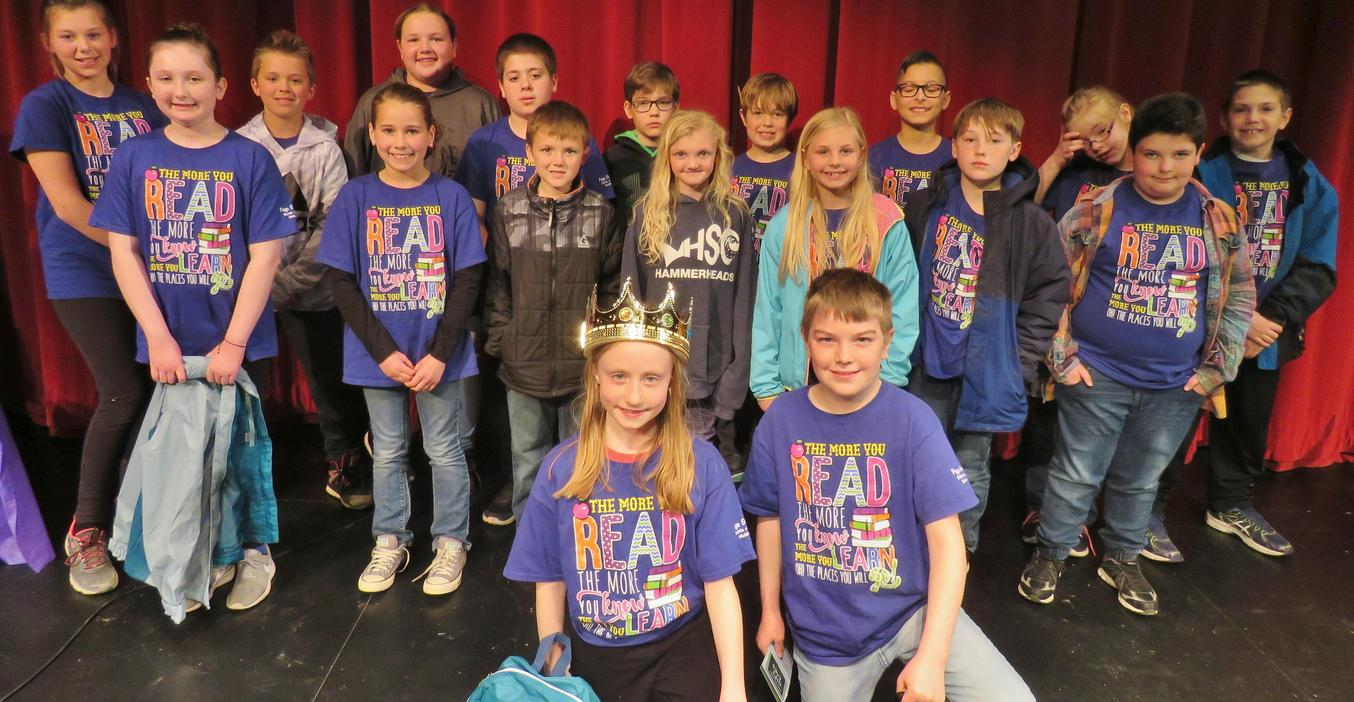 Page crowns Battle of the Books champions.