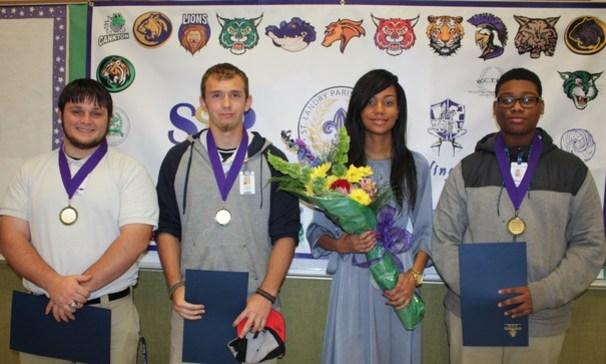 BCHS Students was honored for their life-saving actions for India.