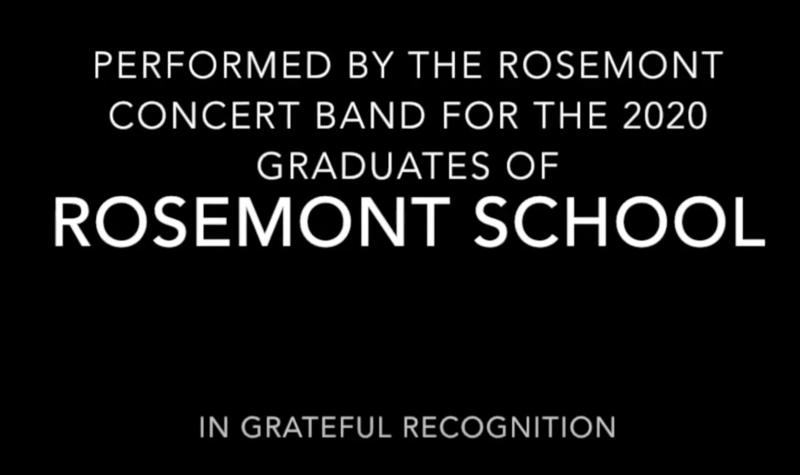 2020 Graduation Concert Band: Pomp and Circumstance