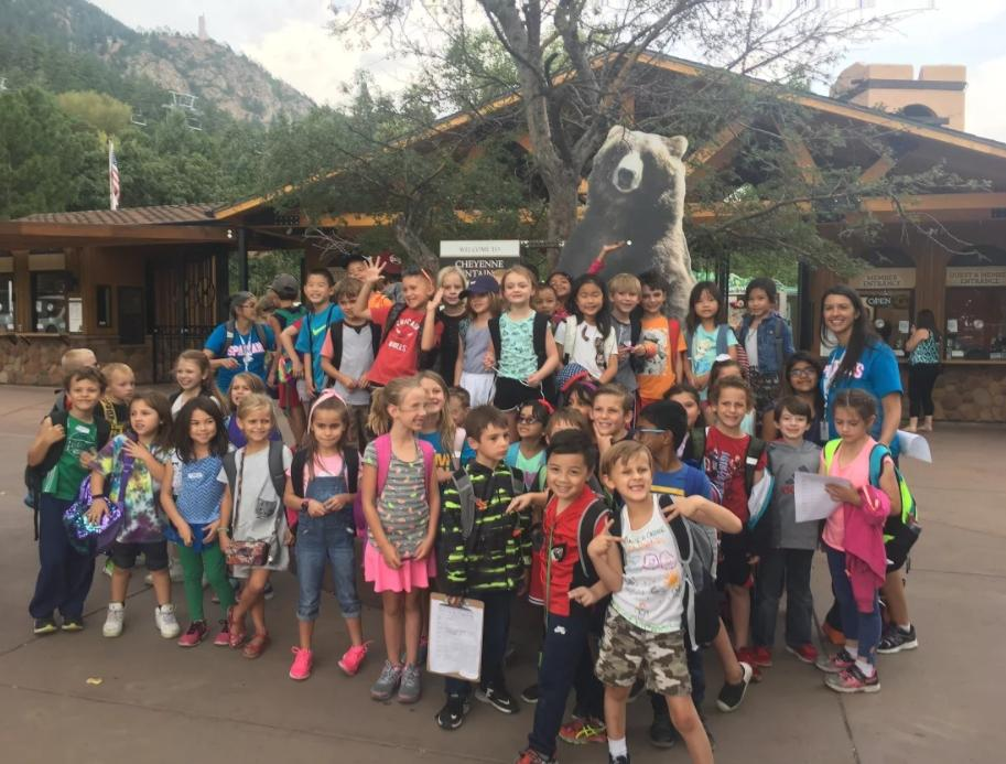 Second Grade Field Trip Cheyenne Mountain Zoo
