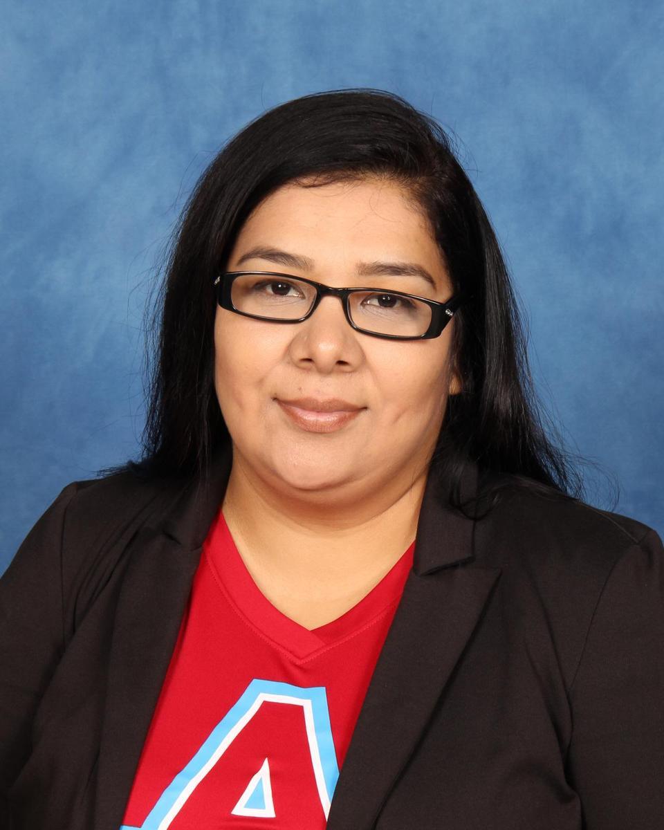 Mrs. A. Rios, assistant principal