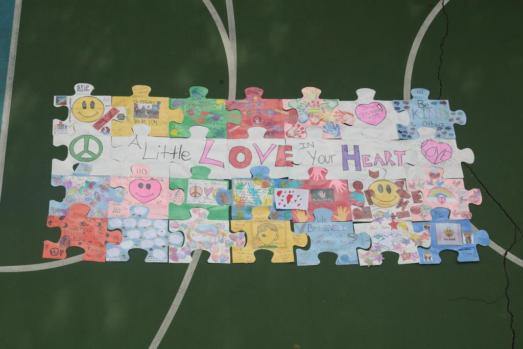 Lets be friend puzzle piece added
