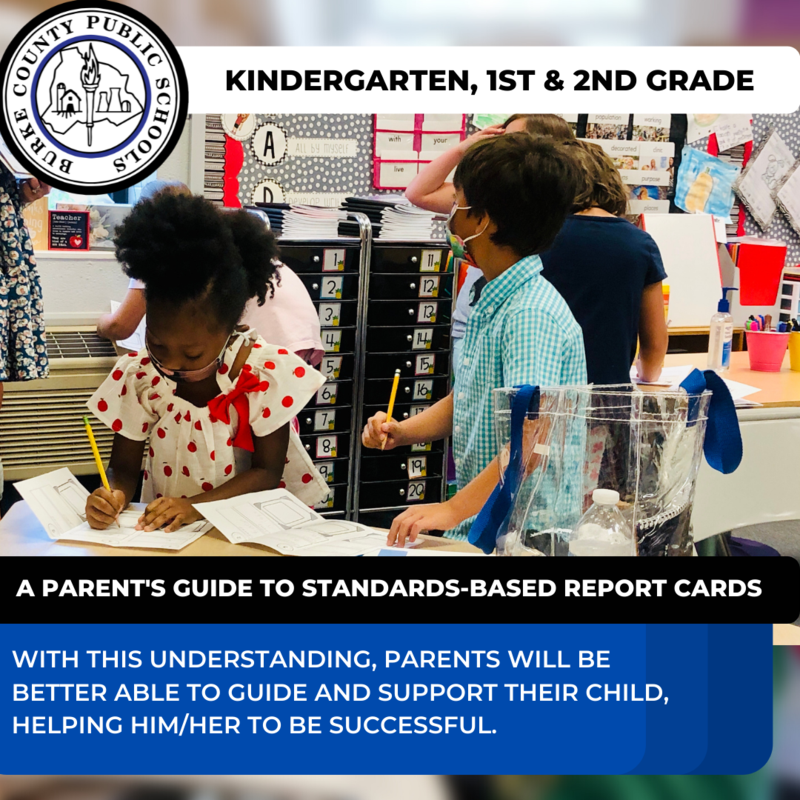 PARENT GUIDE TO REPORT CARDS