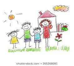 Clip art of kids together