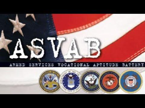 Armed Forces Vocational Aptitude Battery (ASVAB)