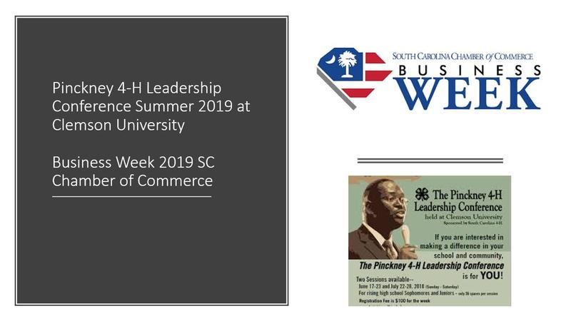 Business Week 2019 SC Chamber of Commerce Featured Photo