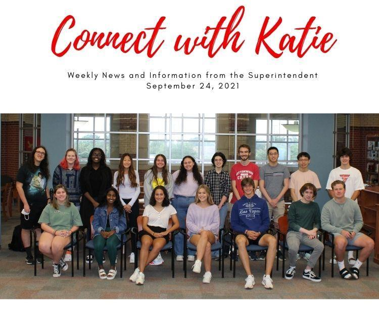 Connect with Katie: September 24, 2021 Featured Photo