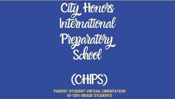 CHIPS Parent Student Orientation Presentation