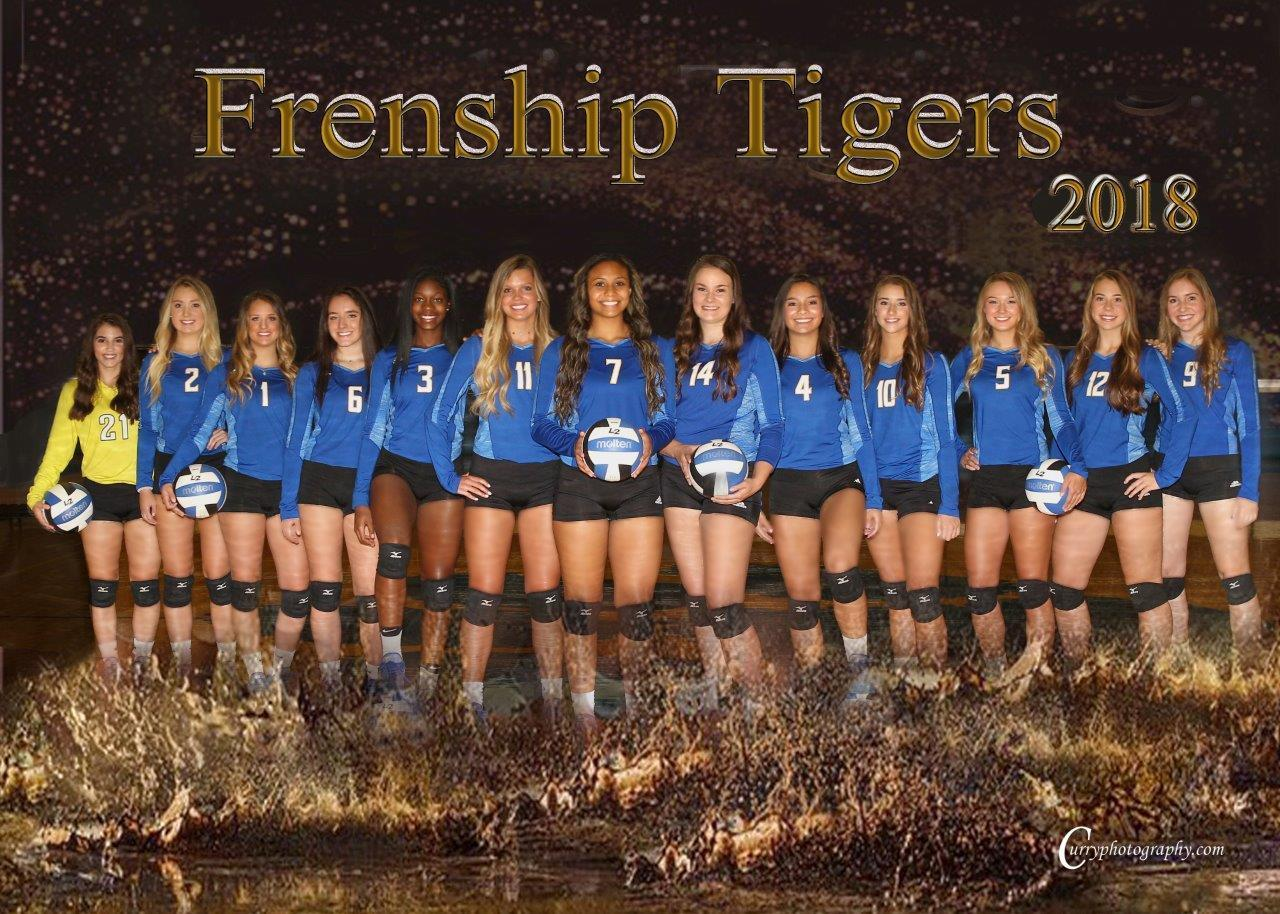 Frenship Volleyball 2018
