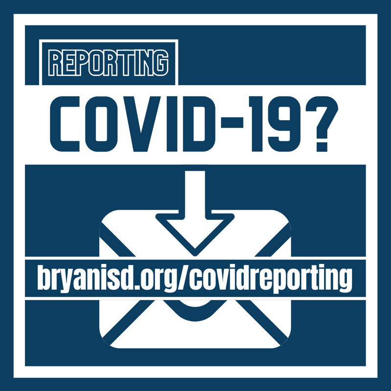 Reporting COVID email addresses