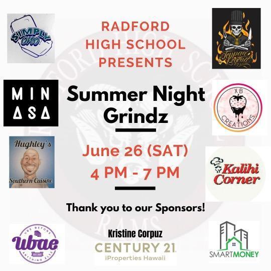 Summer Night Grindz is June 26 Featured Photo