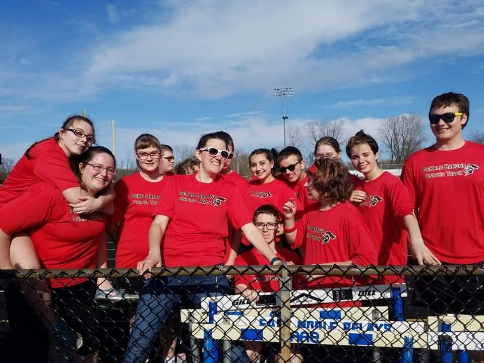 Unified Track Meet at East Noble.