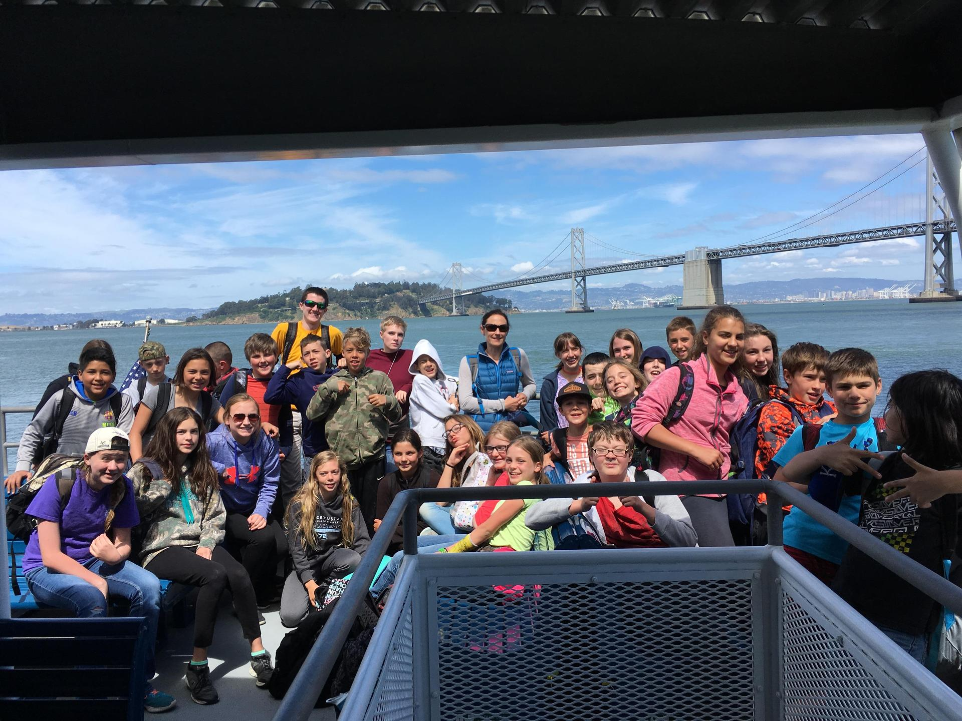 Students on the Bay in SF