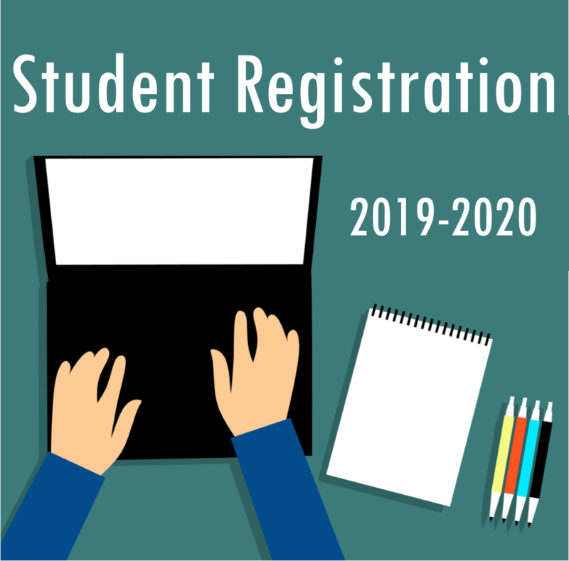 2019-2020 Student Registration Featured Photo
