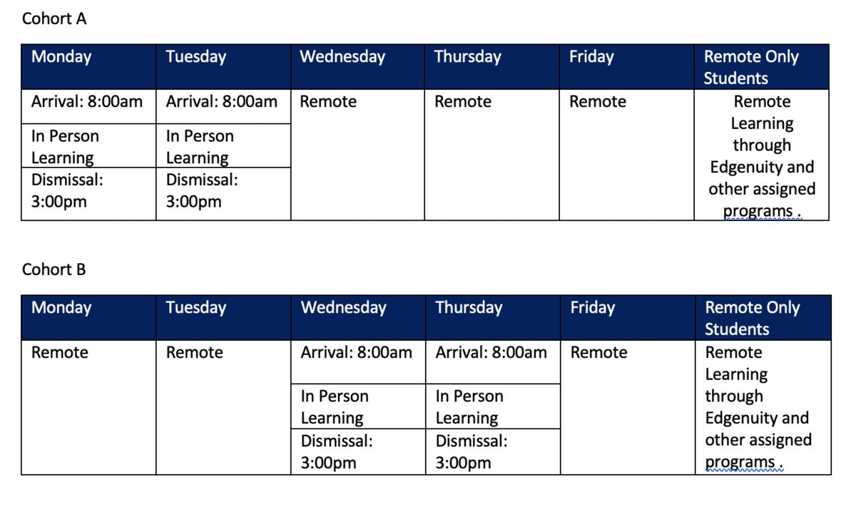 remote schedule hybrid