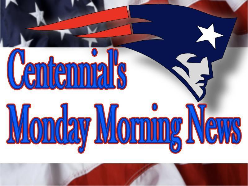 Centennial Monday Morning News
