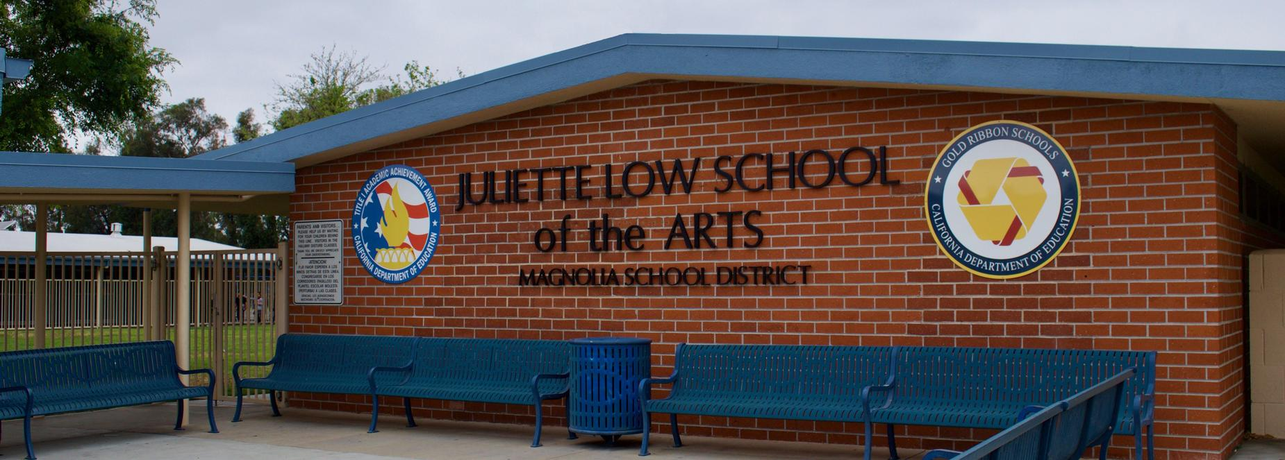 Juliette Low School Front View