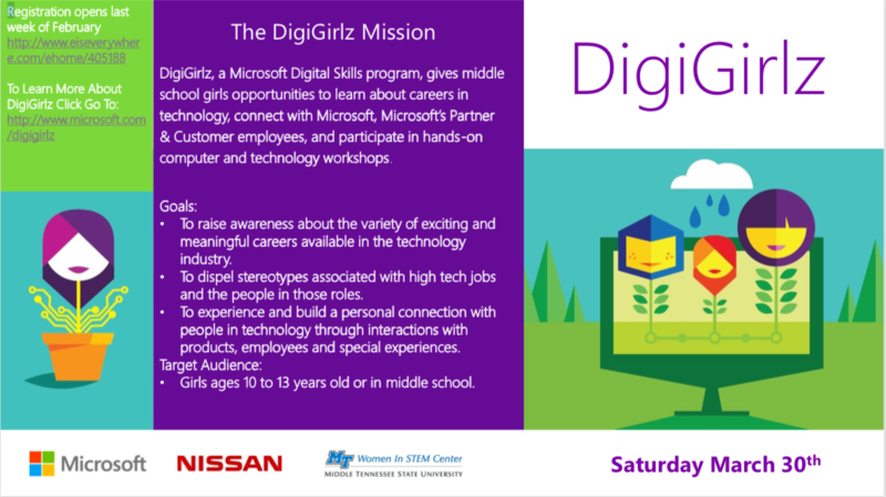 Nissan, Microsoft offer look at high tech opportunities for middle school girls Thumbnail Image