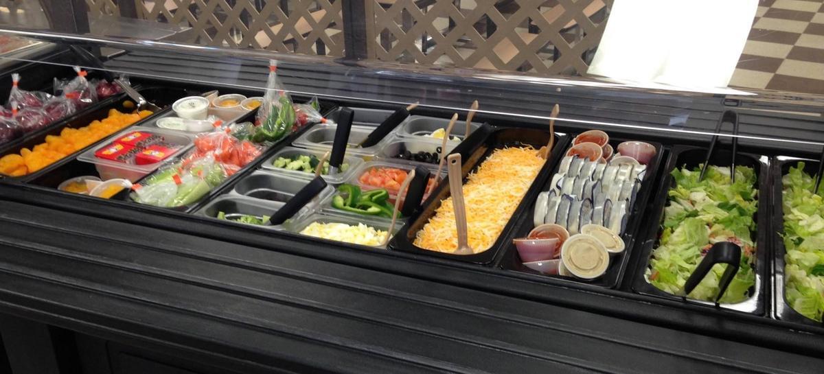 Wabash Cafeteria salad bar
