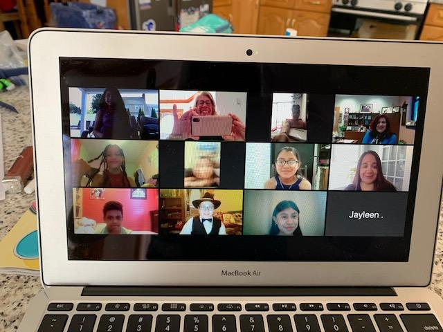 5th Grade group zoom