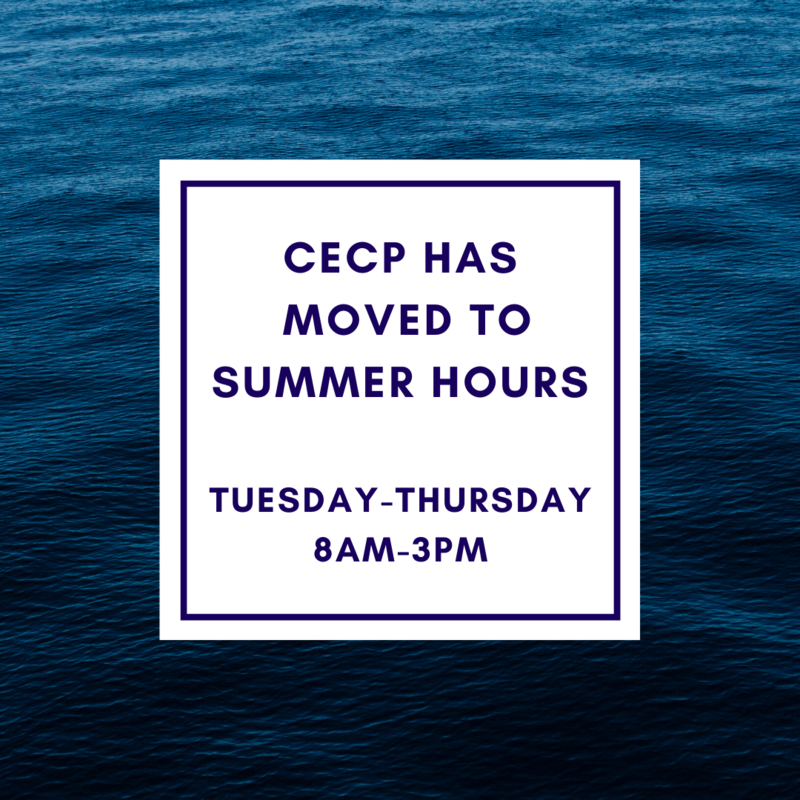 CECP Summer Hours Featured Photo