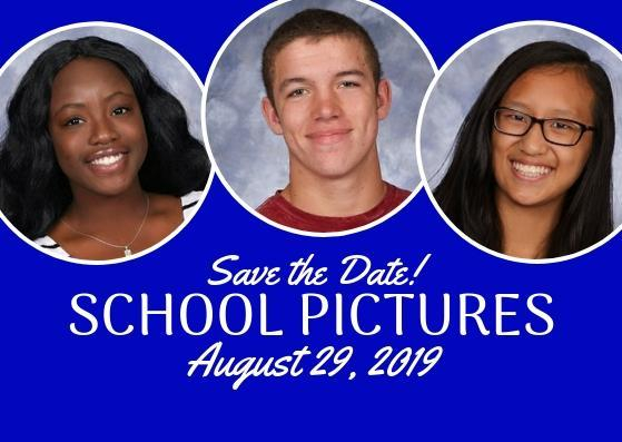 School Pictures - August 29, 2019 Featured Photo