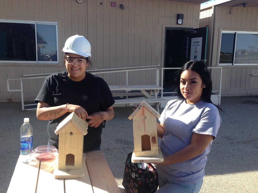 Palmdale Construction Students