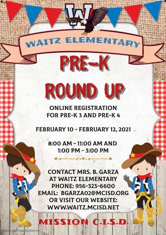 PreK Round Up February 10-12th