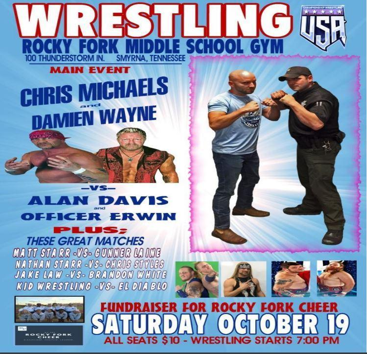Wrestling Fundraiser for RFMS Cheer Thumbnail Image