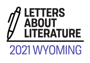 Wyoming letters about literature contest logo