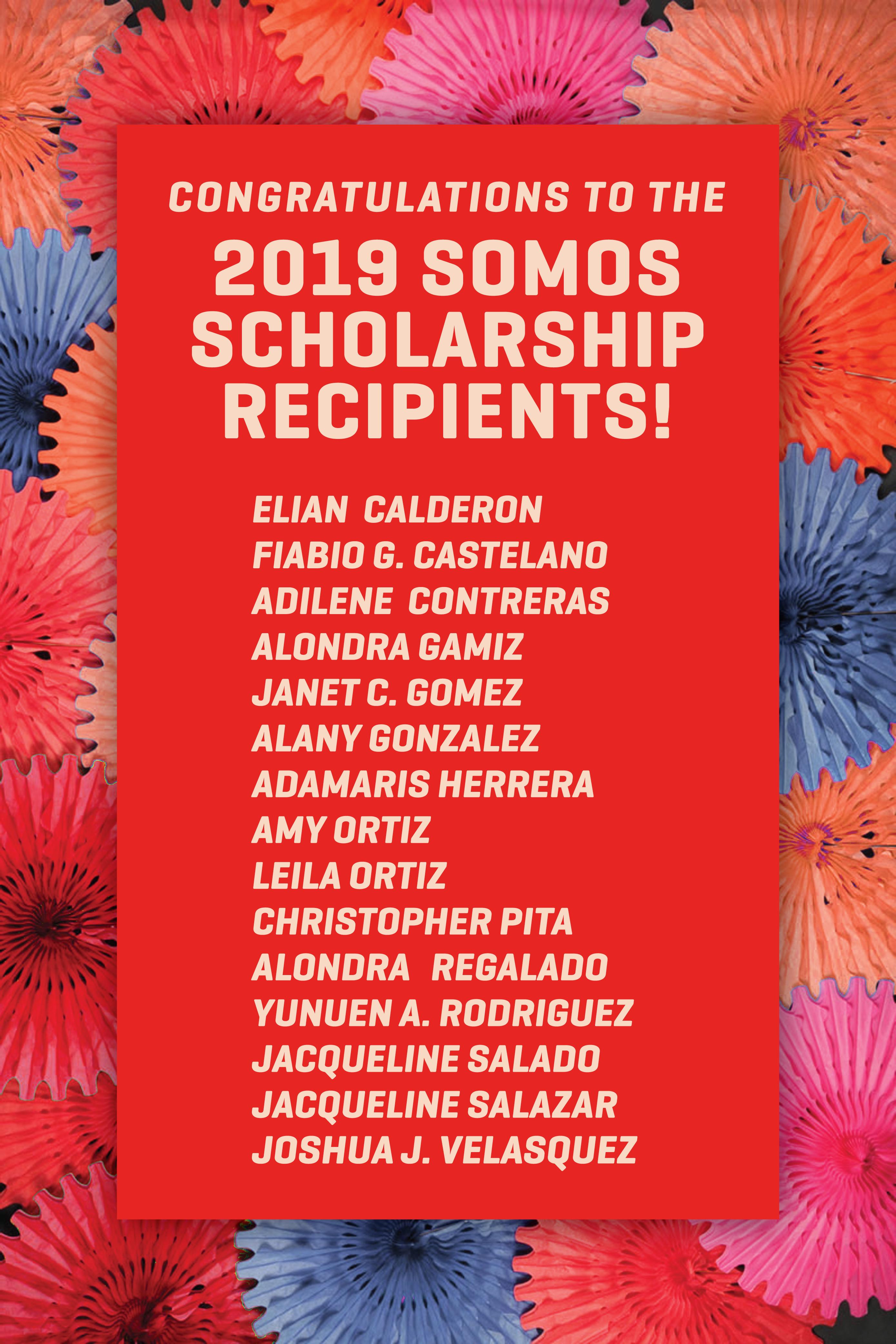 somos winner list of names